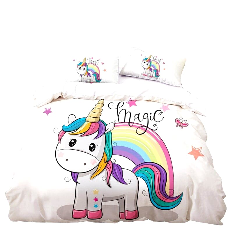 HOUSSE DE COUETTE LICORNE MAGIC N3