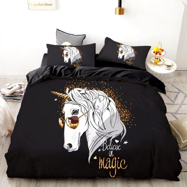 HOUSSE DE COUETTE LICORNE MAGIC N2