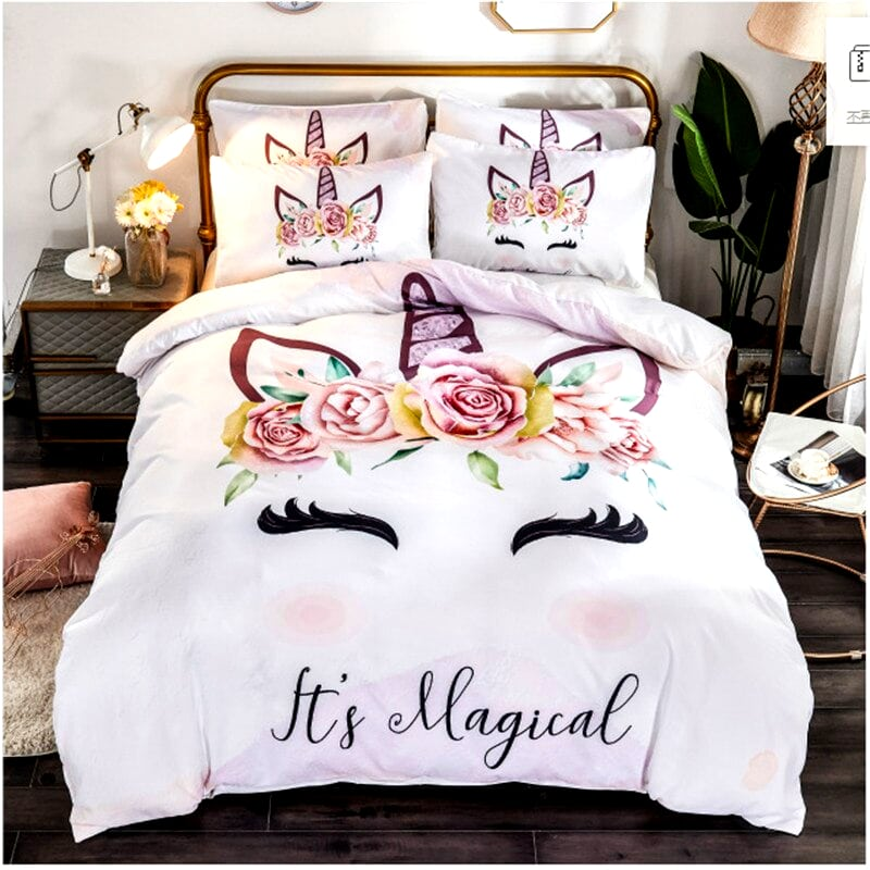 HOUSSE COUETTE LICORNE MAGICAL N1