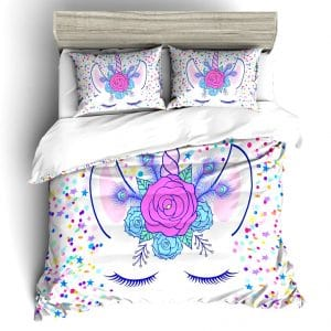 HOUSSE COUETTE LICORNE 2 PERSONNES N-1