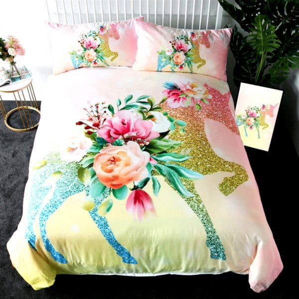 HOUSSE COUETTE LICORNE COOL ROOM N1