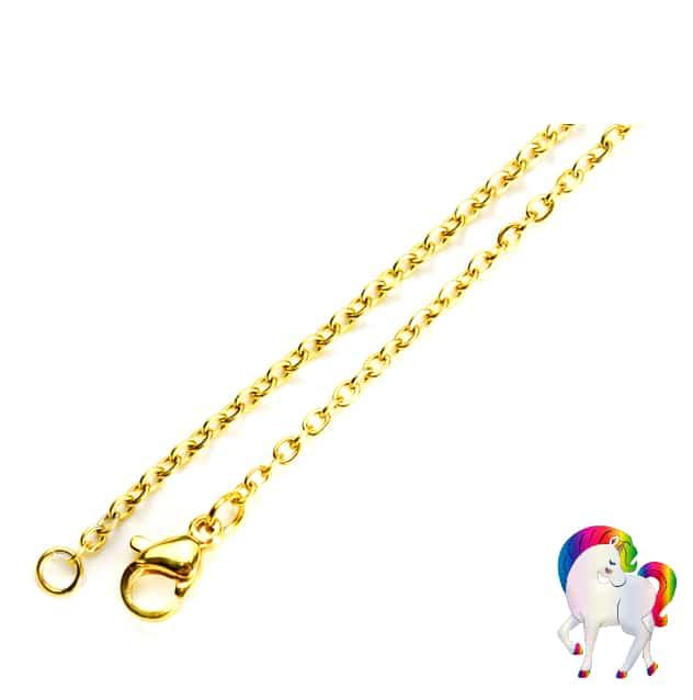 Boucles d'oreilles collier licorne colorée