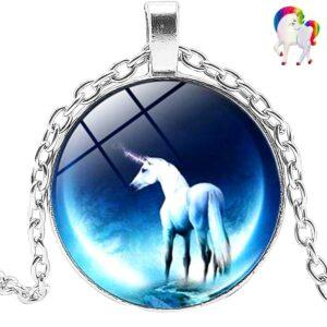 Pendentifs licornes - LICORNE LUNAIRE