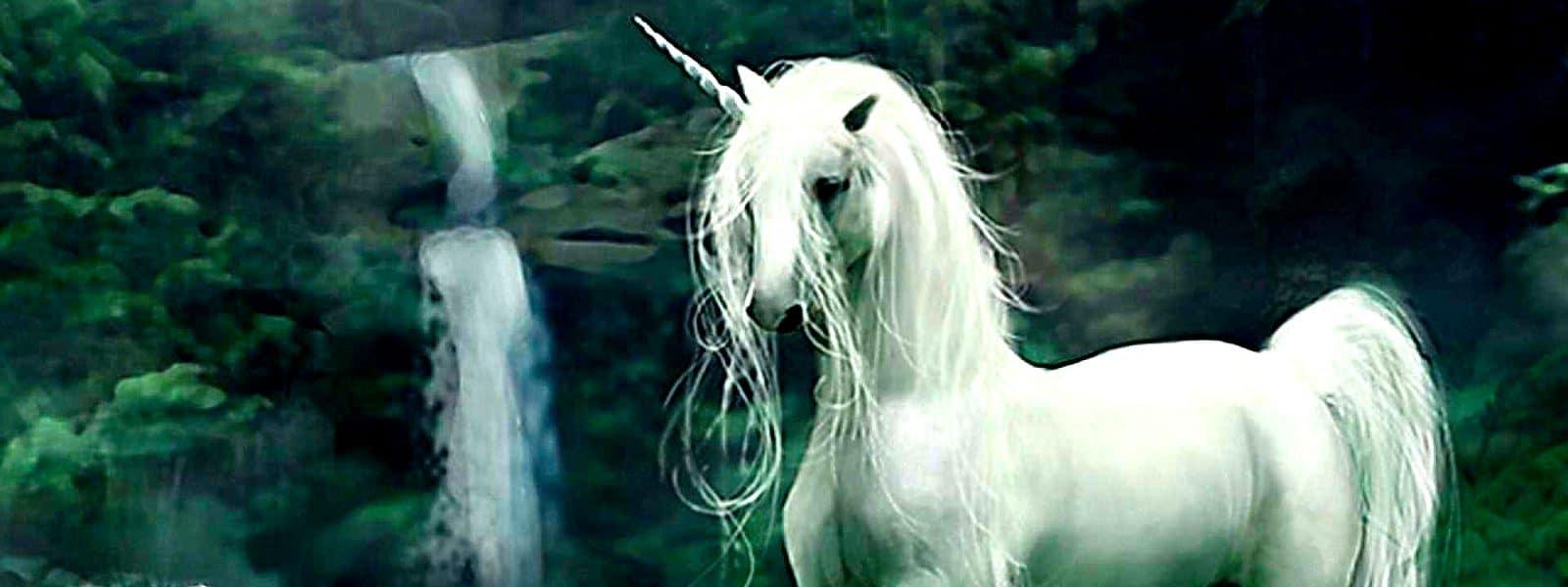 Licorne blanche de de Harry Potter